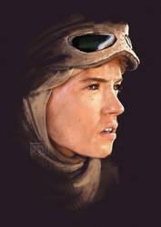 Rey, the Jakku scavenger