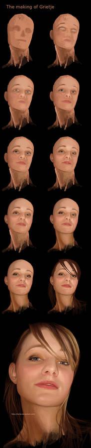 Grietje Portrait Walkthrough..