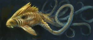 Water Creature 02 by Norke