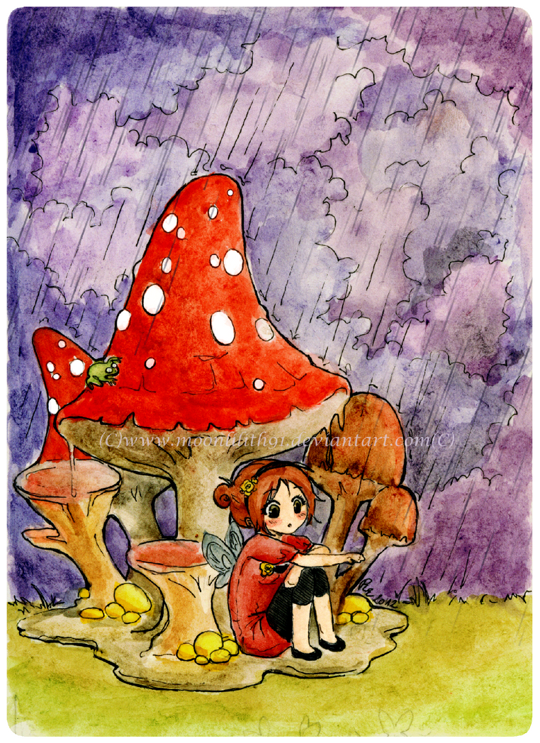 :Mushroom girl: by Moonlilith91