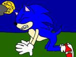 Sonic werewolf transformation stage 1