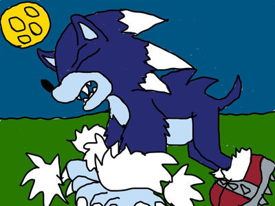 Sonics werewolf transformation stage 3