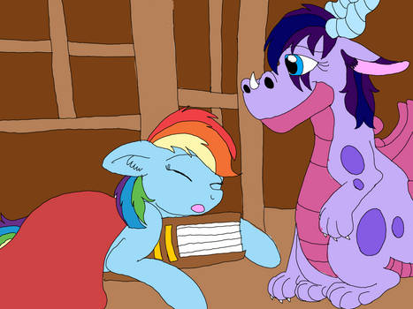 Goodnight Rainbow Dash