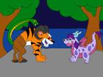 Adean dragon vs the Chimera