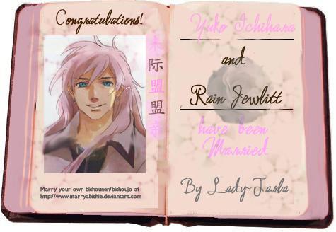 Marriage Certificate Y+R by marryabishie