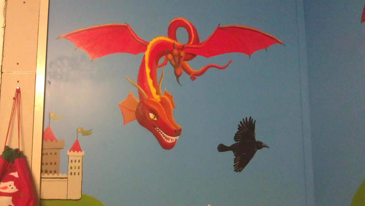 dragon by Takiako-Nakashi