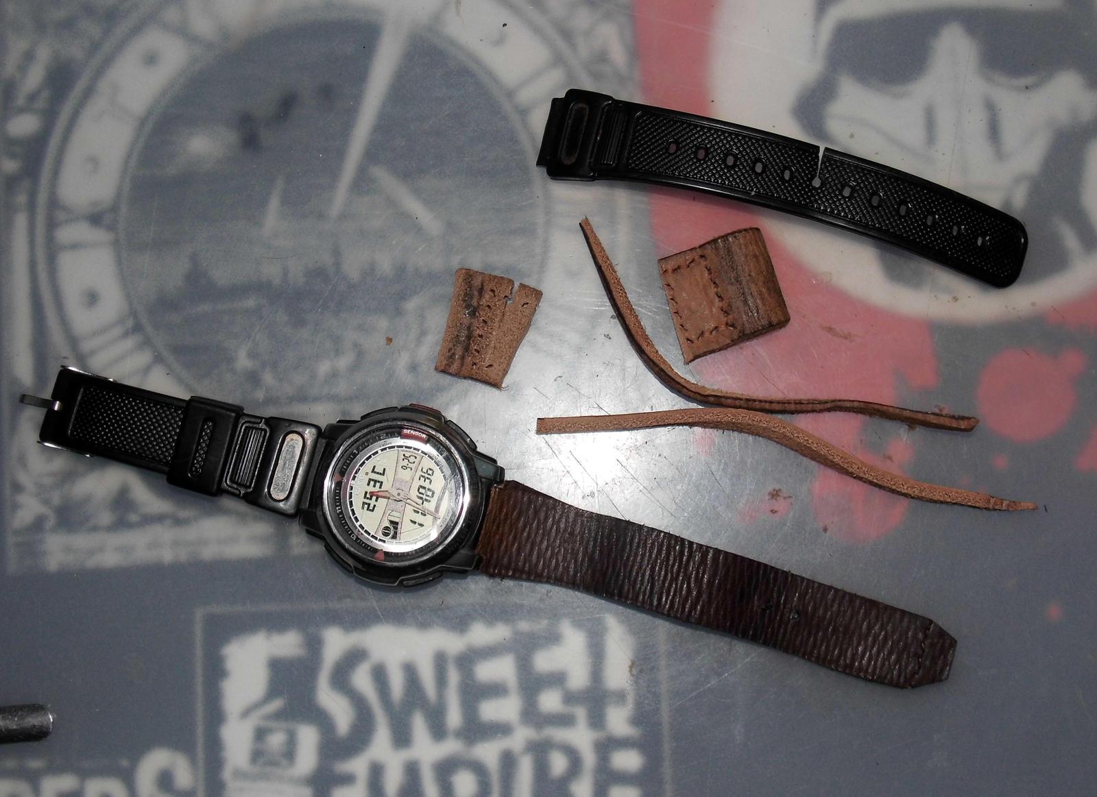 repair broken belt by Takiako-Nakashi