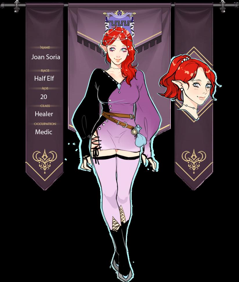 AA: Joan by Saawaa