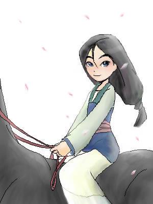 Fa Mulan by shibu