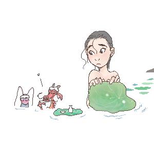hot spring? by shibu