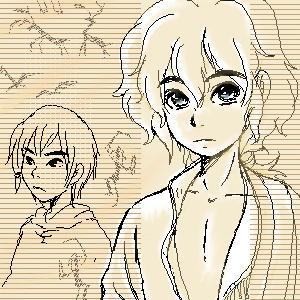 doodlig : D and Y by shibu