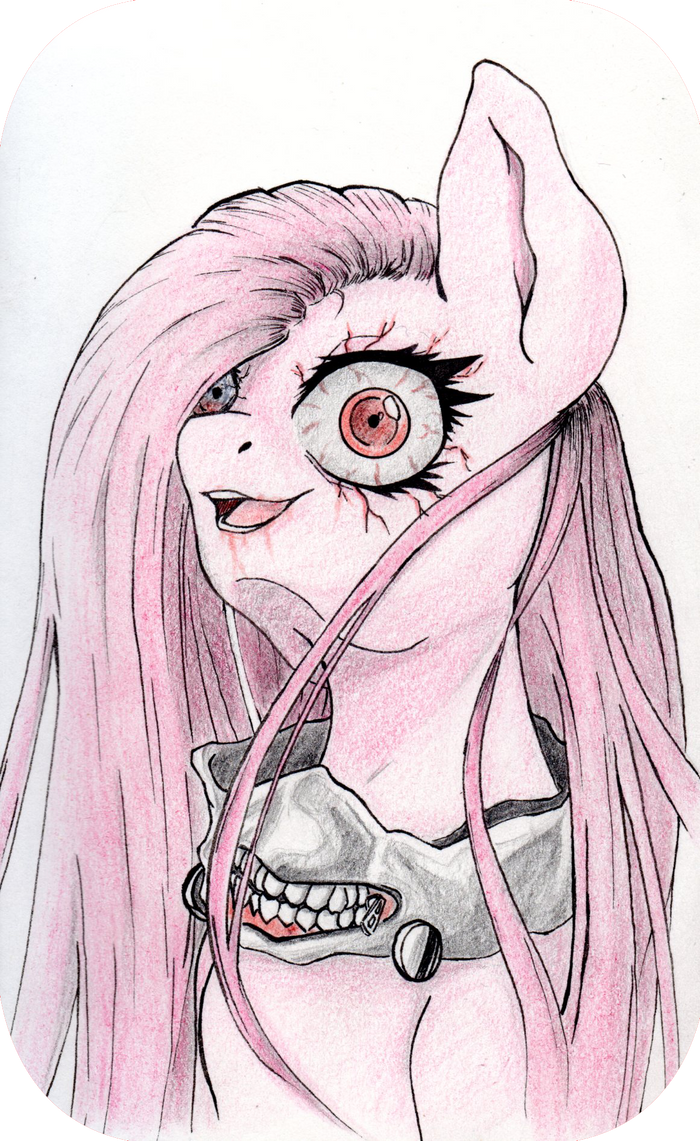 .::AeroDoodle::. Pinkamena Ghoul by Aerostoner