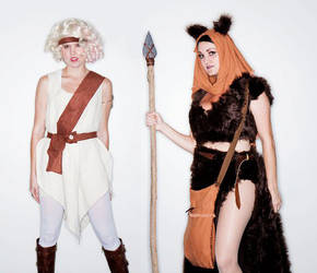 Sexy Ewok and Cindel