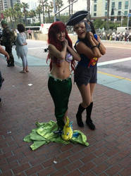 Sloth and Ariel