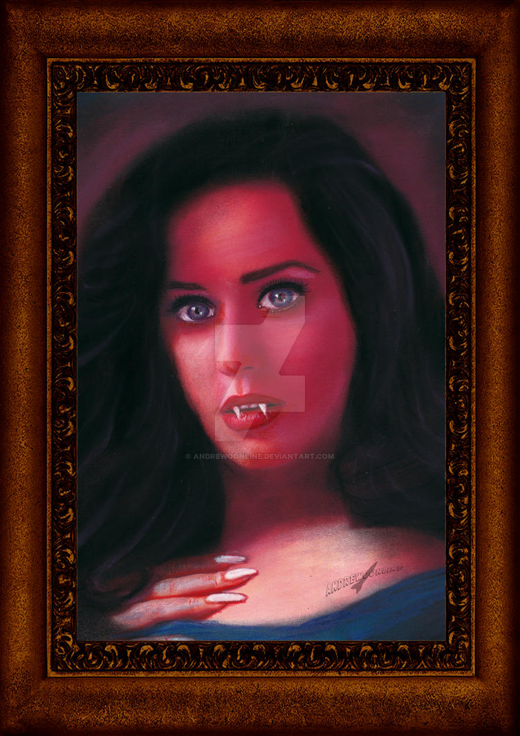 Katy Perry - Vampire by andrewoonline on DeviantArt