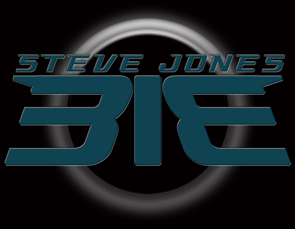 SteveJones313 Logo on Black Background by SteveJones313