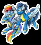 Mid-Flight Kiss