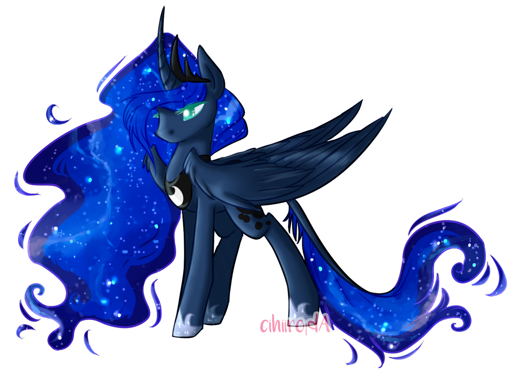 Princess Luna by cihiiro
