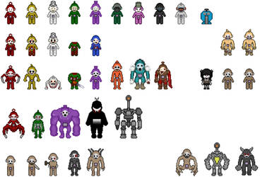 ST3 Sprites [Fan-Made] by Xamp6