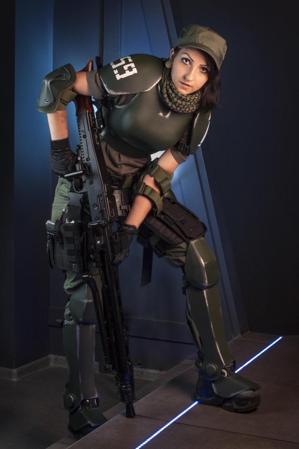 Female Imperial Guard 40k