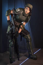 Imperial Guard Female Trooper