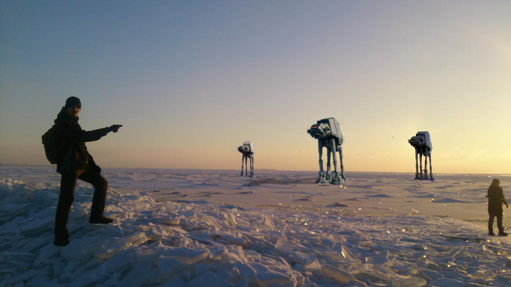 A piece of Hoth by Wastort