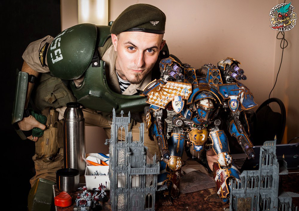 Cadian Intel Officer by Wastort