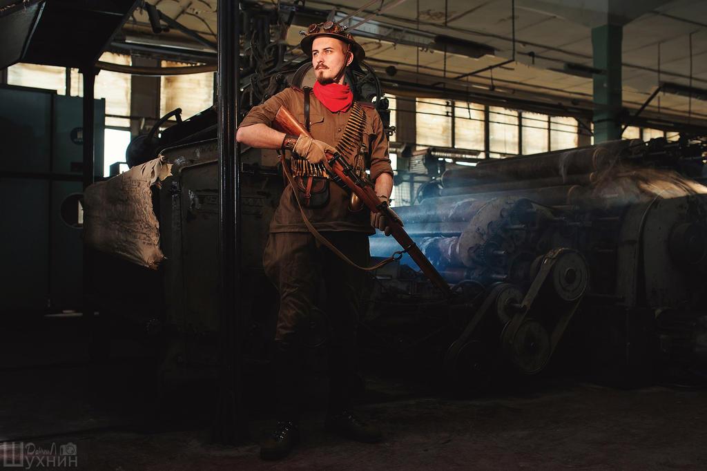 Steampunked WWI by Wastort