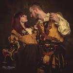 Renaissance flirt by Wastort