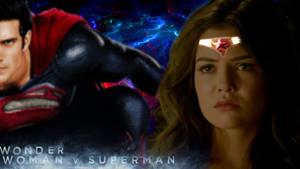 Wonder Woman VS Superman: Apocalypse's Demise V3