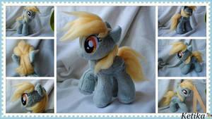 Derpy Hooves pony plush by KetikaCraft