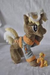 Plush pony Trenderhoof by KetikaCraft
