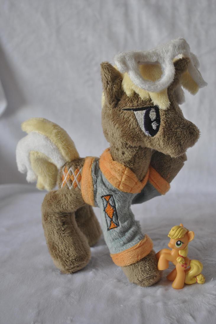 Plush pony Trenderhoof by Ketikaket