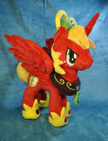 Princess Big Macintosh Plush by KetikaCraft