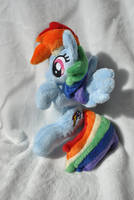 Rainbow Dash poketpony by KetikaCraft