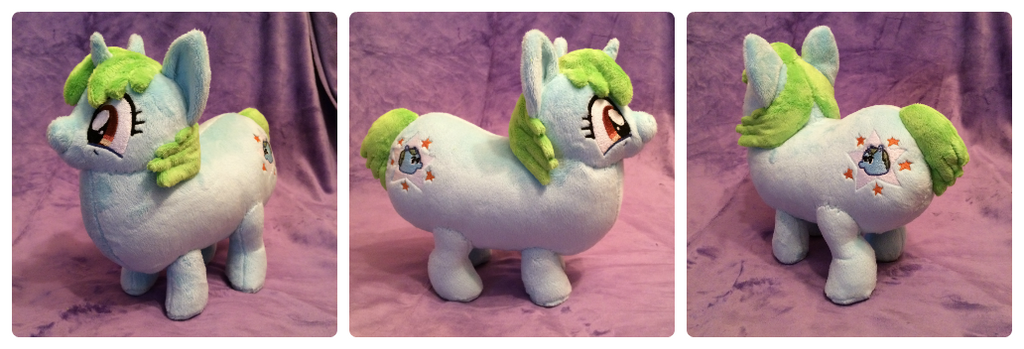 Tumblerina Hamplanet plush by Ketikaket