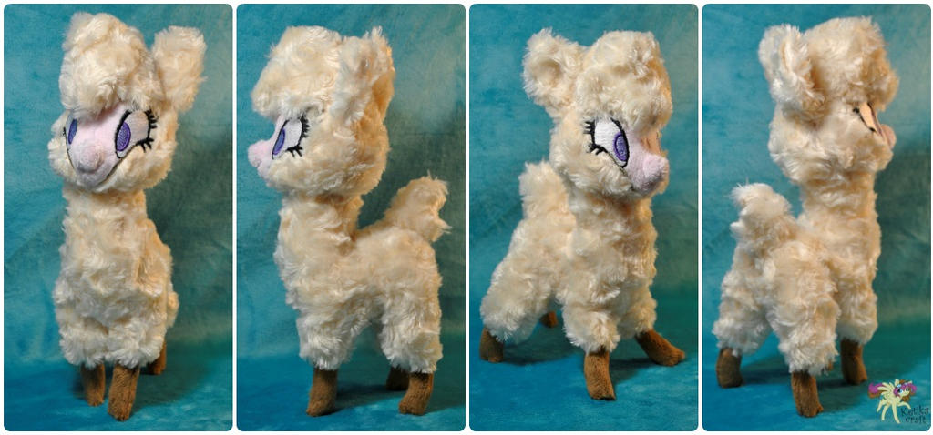 Paprika alpaca by KetikaCraft