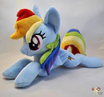 Lying Rainbow Dash by KetikaCraft