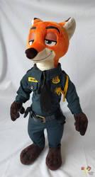 Nick P Wilde ZPD officer