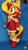 Sunset Shimmer Christmas Edition by KetikaCraft