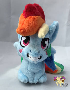 Rainbow Dash emoji mini