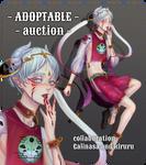 [OPEN] Adoptable Auction 'Sesile' by hahakiruru