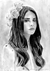 Lana Del Rey by Sezamxq