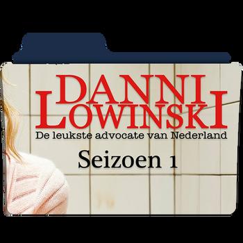 Dani Lowinski NL - Seizoen 1 folder icon by MB053