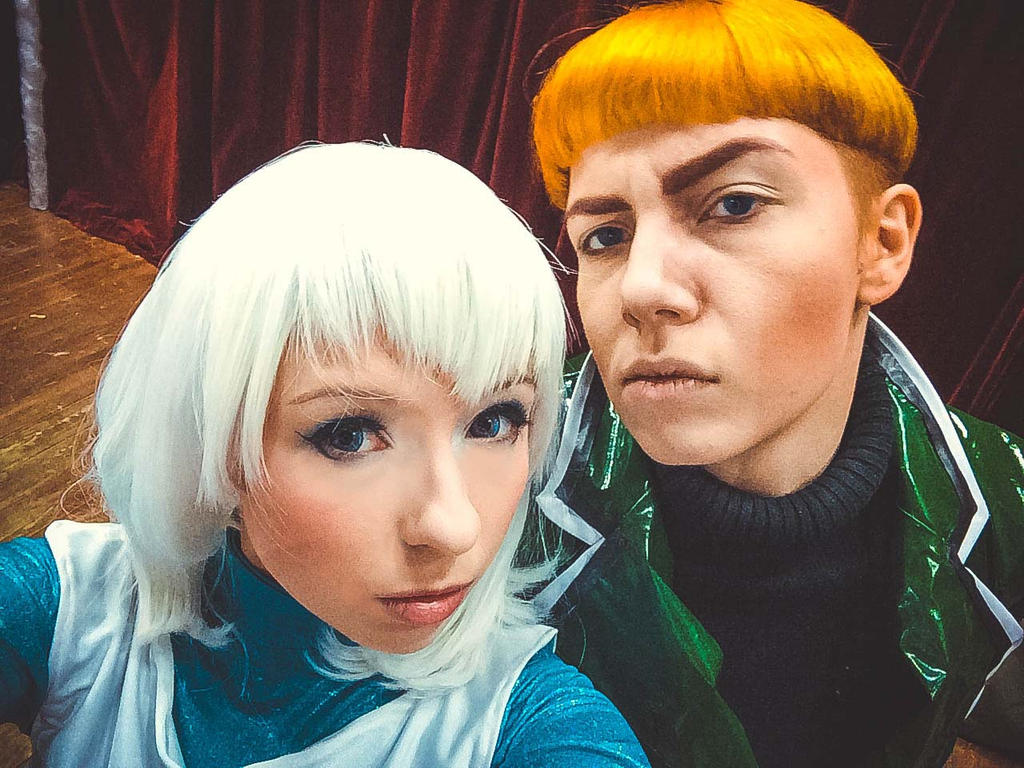 Guy Gardner and Tora Olafsdotter - selfie by Megane-Saiko