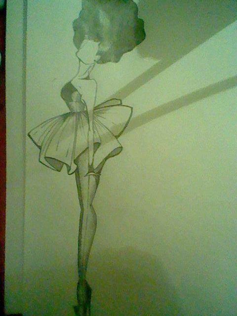 Fashion Sketch 7. by Sophi-Jayne