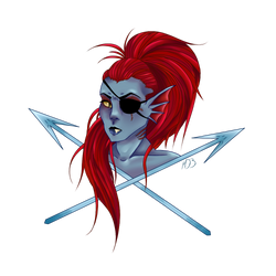 undyne colored ver.