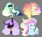 Adopts: Sparkly Manes.... I Need Them (Closed)