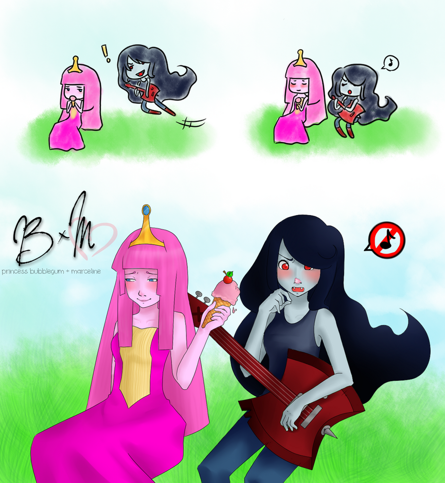princess bubblegum marceline by sukideath on deviantart