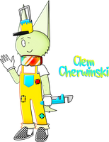 Pop'n Music OC - Clem Cherwinski (peace style) by NockeyNoo